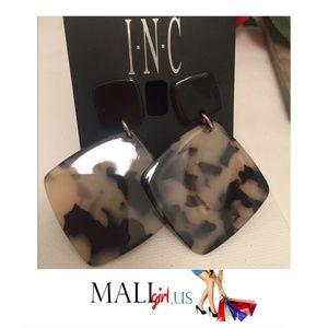 Animal Print Geometric shape Boho Drop Earrings